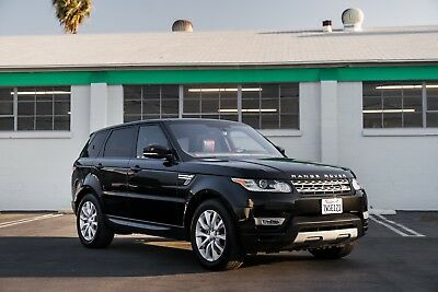 2017 Land Rover Range Rover Sport HSE 2017 Land Rover Range Rover Sport HSE V6 supercharged