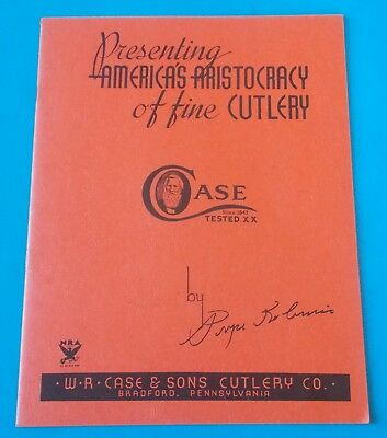 Presenting Americas Aristocracy Of Fine Cutlery Case Tested Xx Book
