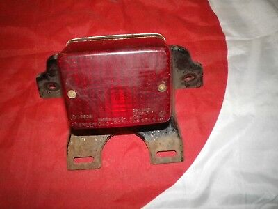 Yamaha Rxs100/125 Tail Lamp Complete With Mounting Bracket