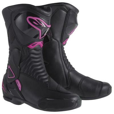 Alpinestars SMX-6 Womens Black/Pink (Size :EURO 36/37/41) PRE-SEASON CLEAROUT!