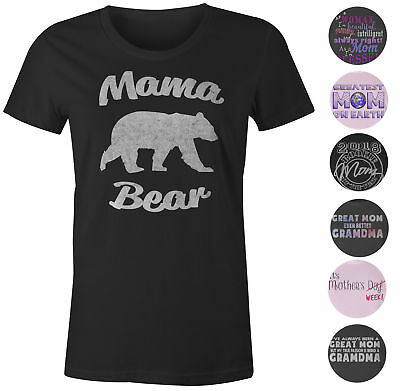 9 Crowns Tees Women's Mother's Day Gift Sweet Funny Graphic T-Shirts