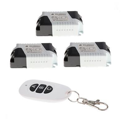 315Mhz Remote Control with 3 Swithes for Garage Door Lighting ect.