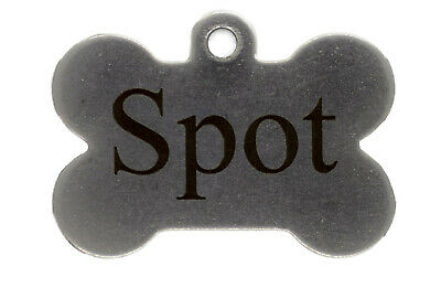 Custom Engraved Pet Tags for Dogs and Cats-Stainless, Brass, and Aluminum