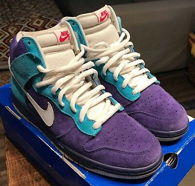 Nike SB Dunk High Lost 2009 Oceanic Airline Germain Blue 305050-400 Rare  Size 12 f8c8c343cb