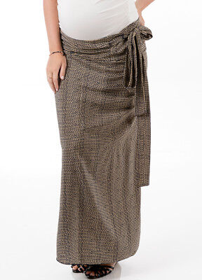 NEW - Trimester™ - Etching Maternity Wrap Skirt - FINAL SALE
