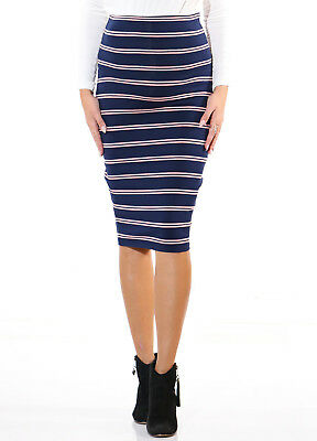 Trimester® - Hayden Striped Pencil Skirt