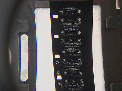 16mm film AUSTRALASIAN GAZETTE Australian 20s silent newsreel cricket movie