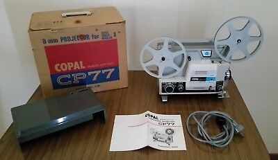 COPAL Sekonic CP 77 Movie 8MM PROJECTOR FOR SUPER/SINGLE/REGULAR 8 Vintage Rare!