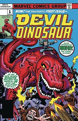 True Believers Kirby 100th Devil Dinosaur #1 - Reprinting DEVIL DINOSAUR (1978)