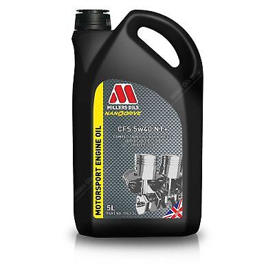 Millers Oil NANODRIVE CFS 5W40 NT+ Fully Synthetic Engine Oil 5L 7963GMS - SPOOX