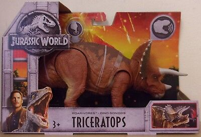 Jurassic World Roarivores ~ Triceratops ~ With Dino Sounds & Chomping Action