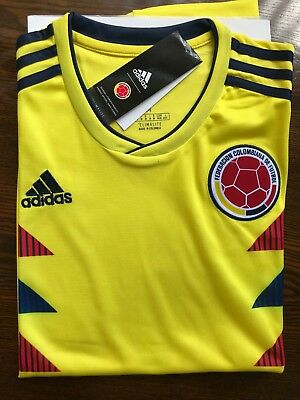Colombia Jersey Home 20018- Camiseta Colombia Free Shipping