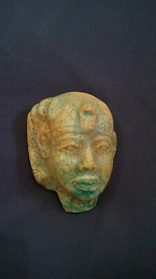 Ancient Egyptian king Tuthmosis IV Head  Period 18 th dynasty