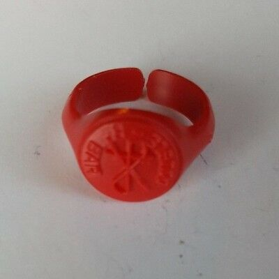 1961 Vintage Cracker Jack Prize Toy Double R Bar Ring