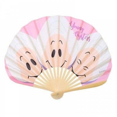 New Disney Store Japan Folding Fan Young Oyster Summer Fun 2018 From Japan F/S