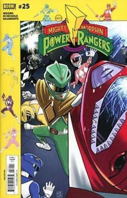 Mighty Morphin Power Rangers BOOM Studios #25 Cover H Variant SUBSCRIPTION