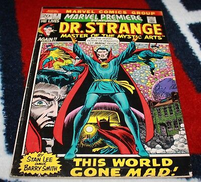 Marvel Premiere #3 (Jul 1972, Marvel) Doctor Strange
