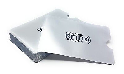 RFID Blocking Card Sleeve Wallet Protector Debit Credit Contactless Card Holder