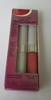 CoverGirl Outlast Smoothwear All Day Lipcolor, Rose Satin 810