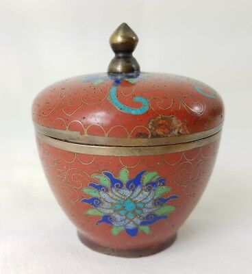 Old Chinese Cloisonne Trinket Box