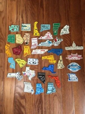 Lot of 35 - United States State Refrigerator Magnets & Some Other Tourist Sites