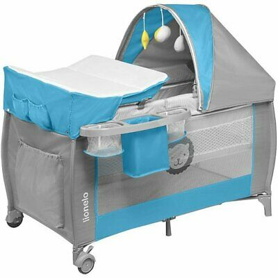 Music Mosquito Changing Lionelo Sven Travel Cot Rocking mode Swing