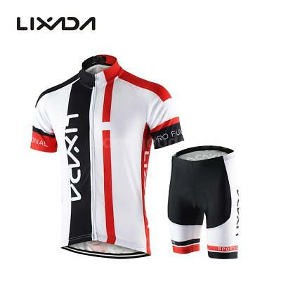 Hommes respirant Quick Dry Comfortable Jersey à manches courtes + Shorts O7N6