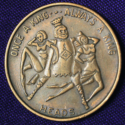 1965 Comic Coin #5 Heads Tails Flipper - Once A King Always A King - TC-443263