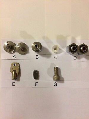 WIRE EDM BROTHER-HSxxxx SET OF SPARE ACCESSORIES PARTS