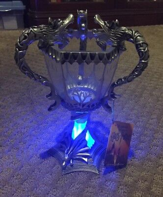 Universal Studios Wizarding World Harry Potter Triwizard Cup Light Up New W  Tags