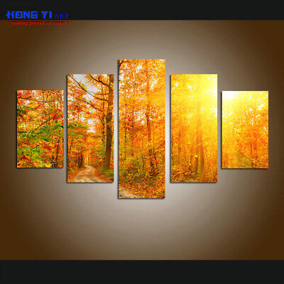 Large Modern Forest Landscape Picture Canvas Print Painting Wall Art Home Decor