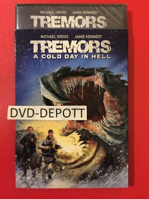 Tremors: A Cold Day In Hell DVD & Slipcover AUTHENTIC ITEM read Free Shp NO TAX