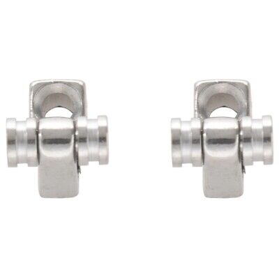 CE Set of 2 Chrome Roller String Retainer Trees Guitar Parts X1C1