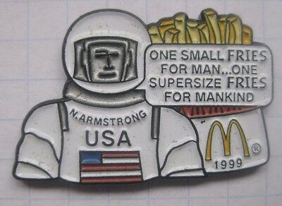 NEIL ARMSTRONG  / SPRUCH / VIP / PROMIS .................Mc DONALD`s -Pin (150d)