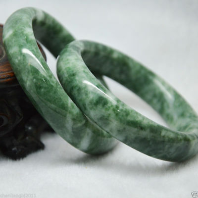 Natural Chinese jade hand-carved  beautiful bracelet