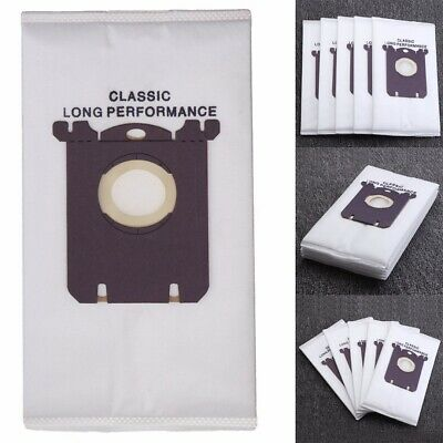 5/10pcs Disposable Vacuum Cleaner Dust Bags  For Philips Electrolux S-bag Clean