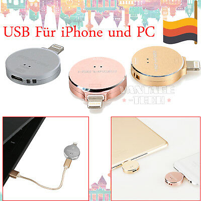 i Flash Drive USB Memory Speicherstick OTG Device 64GB 128GB Für iPhone iPad PC