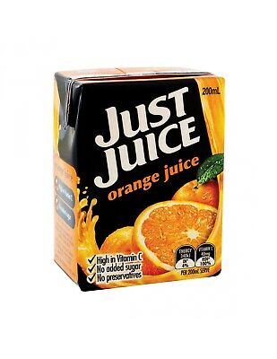 Just Juice Orange 200ml x 24
