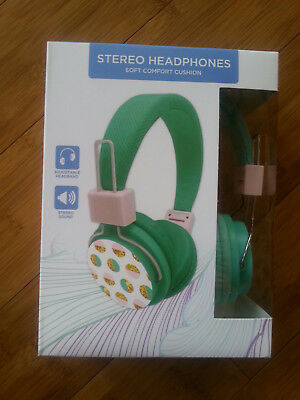 NEW SEALED VIVITAR Listen Up Stereo DJ Headphones Wired (V50035C-JCP) POLKA DOT