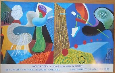 David Hockney Poster - Some Very New Paintings 1993