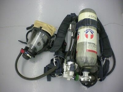 Survivair Panther SCBA w/30 Min HP Carbon 4500 Tank, Backpack, Mask, Regulator