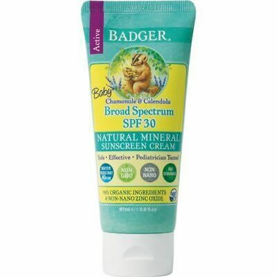 BADGER | Sunscreen Baby SPF30 | 2 x 87ml