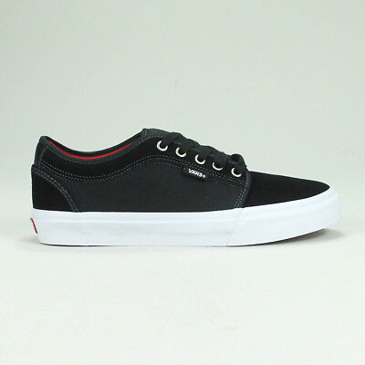 Vans Chukka Low Trainers Pumps Shoes in Black/Chilli in UK Size 6,7,8,9,10,11