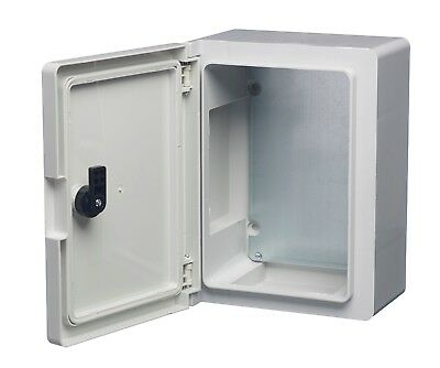 Europa Insulated ABS Plastic Enclosures IP65 Lockable Hinged Box Waterproof