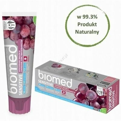 2x Biomed Superwhite Coconut Whitening Toothpaste - 100g x 2