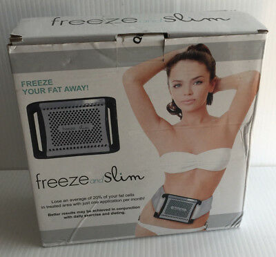 NEW Freeze and Slim Fat Reduction Freezer System w/ Power Adapter & Belt SFGW-01