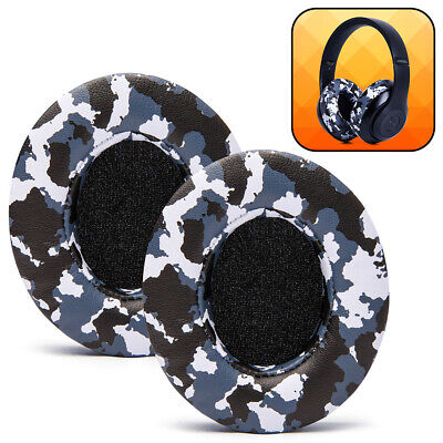 Replacement Ear Pad Cushions for Beats Studio 2 & 3 Wired / Wireless - Snow Camo