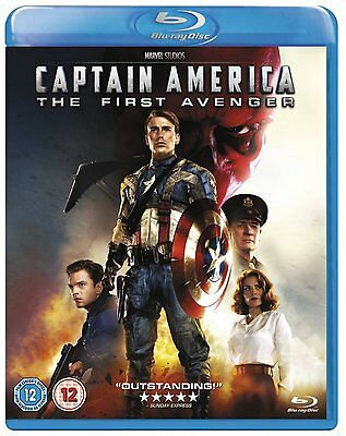 Captain America The First Avenger Brand New Blu ray 8717418413897