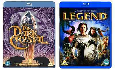 Legend & The Dark Crystal Blu-ray Double Pack Brand New Perfect Blu Ray