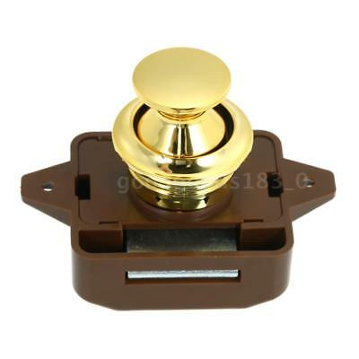 Large Push Button Cabinet Latch for Rv/Motor Home Cupboard Caravan Lock for T3F3